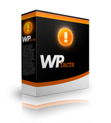 Product picture WordPress Facts Plugin with PLR