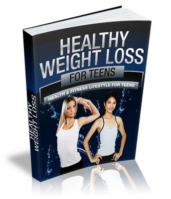 Product picture Healthy Weight Loss For Teens with PLR