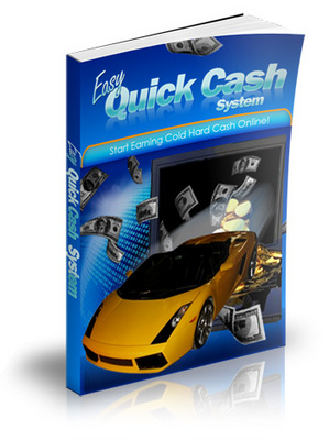 Product picture *New* Easy Quick Cash System (MRR)